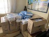 Diapers Delivered to Znamyanka Orphanage
