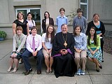 His Beatitude Metropolitan Constantine with the Delegates of the Second Youth Sobor of the UOC of the USA